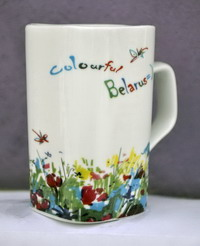 Дэкаратыўны кубак. Каляровая Беларусь / Colourful Belarus