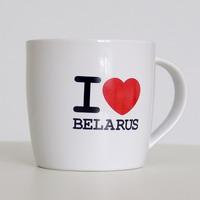 "Кубак керамічны ""I Love Belarus"" (шырэйшы)"
