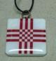 Кулён handmade з элементам нацыянальнага арнаменту (сымбаль шанавання памяці про